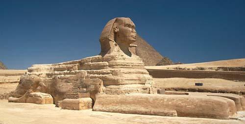 Sphinx pyramids tour