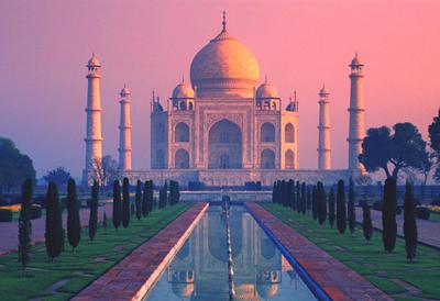 Taj-Mahal-Sunset